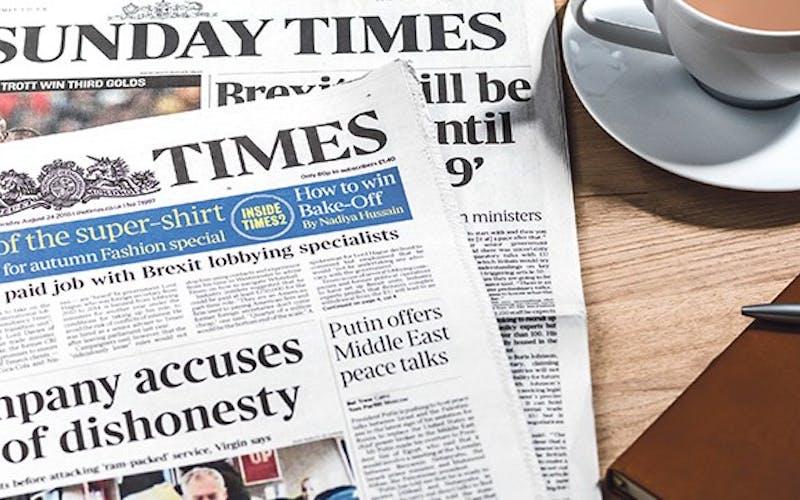 The Sunday Times | Walpole member