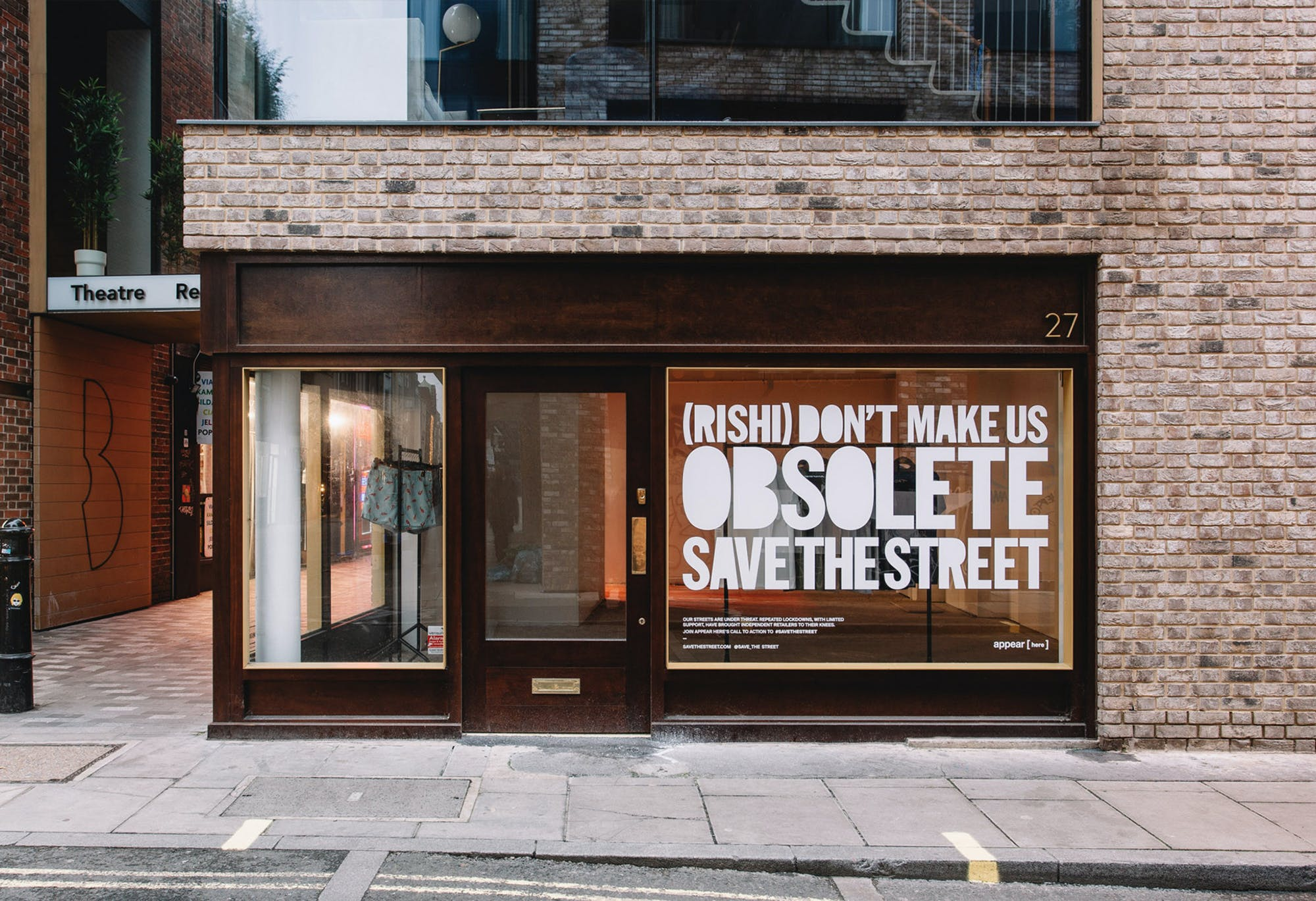 #SAVETHESTREET Charlotte Tilbury joins the #SAVETHESTREET campaign