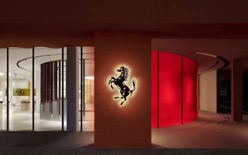 Sybarite designs the first Ferrari retail experience in Maranello, Italy