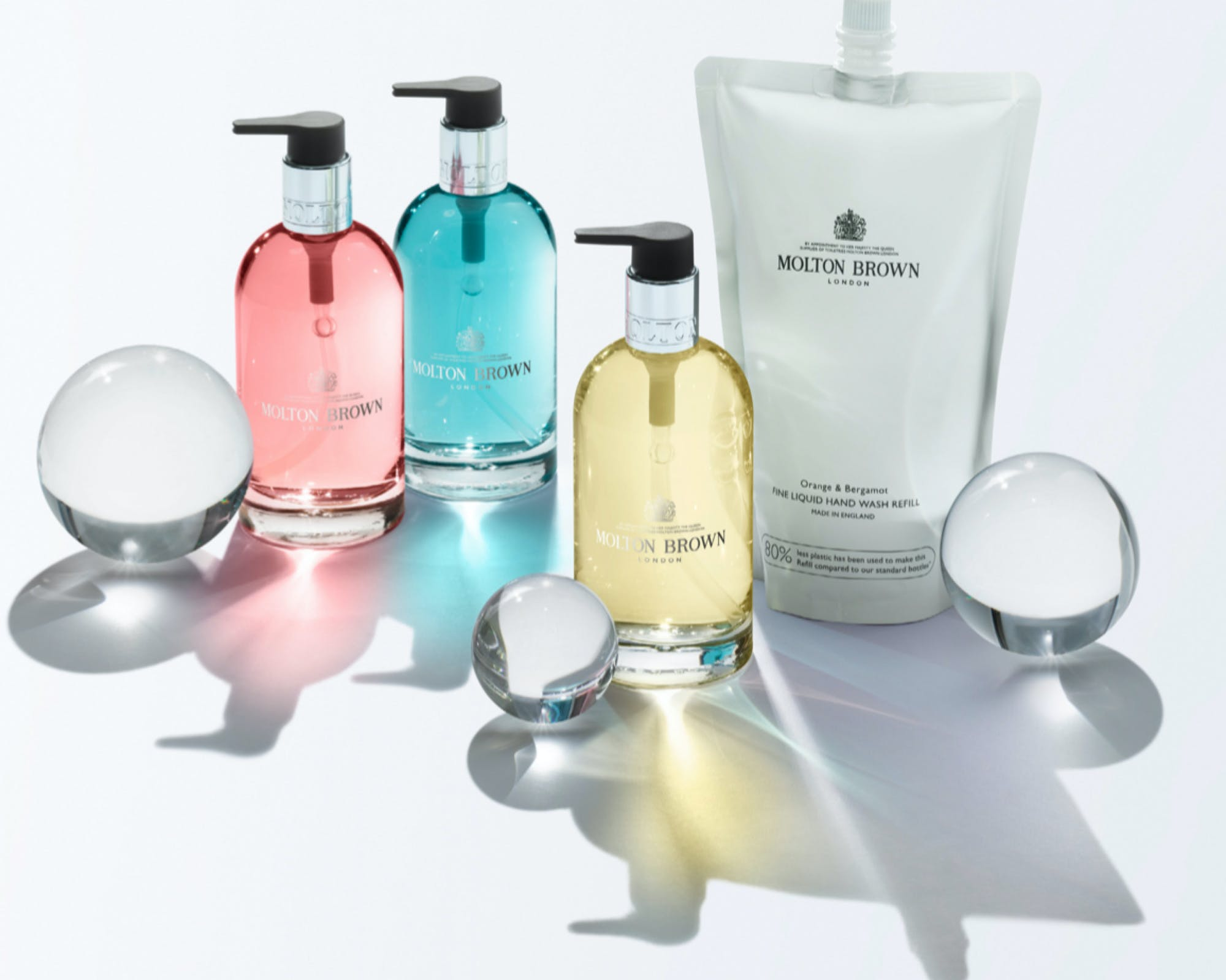 Sustainability Stories Return Recycle Reward with Molton Brown