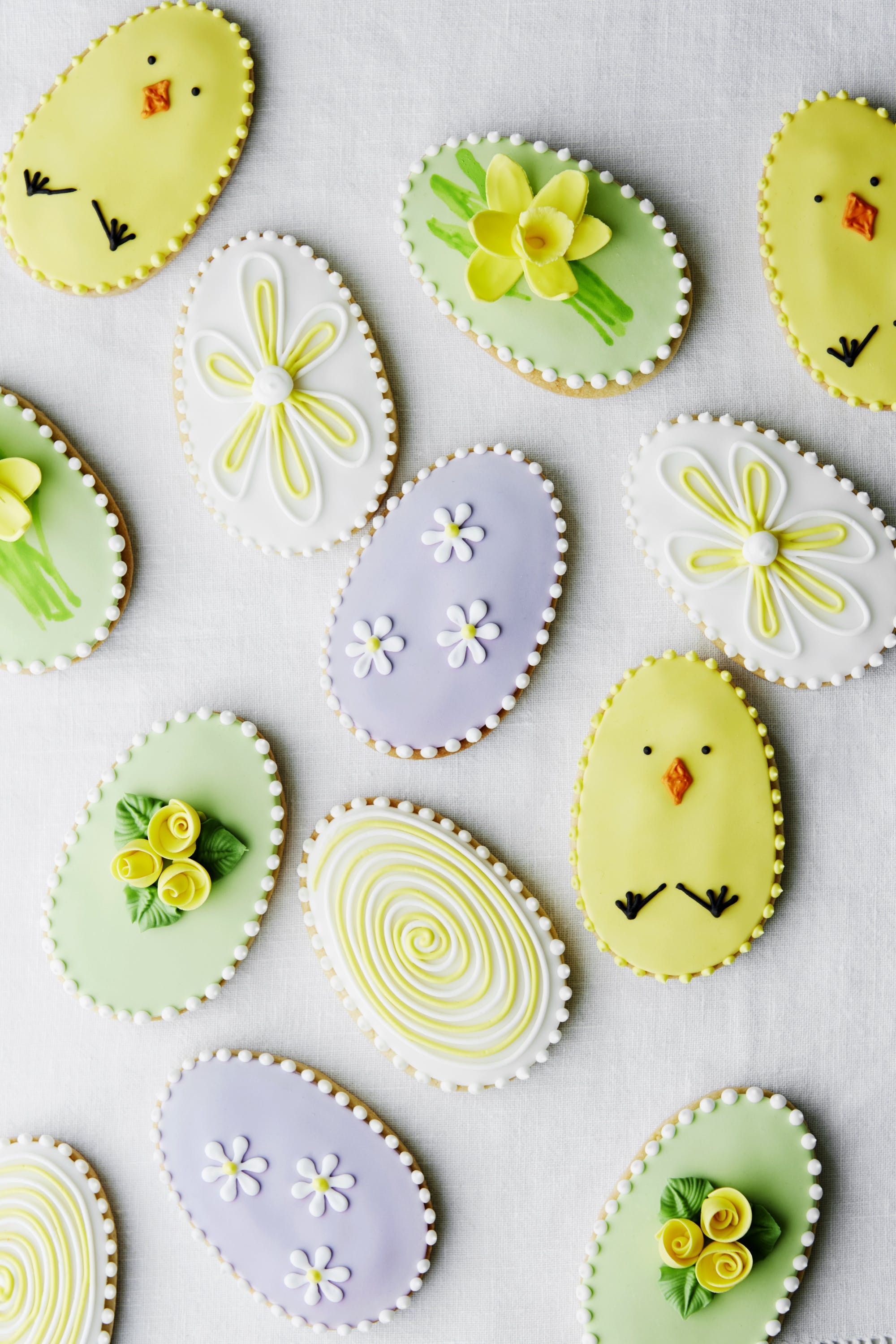 Easter R & R  Hand-Decorated Easter Biscuits, a recipe by Mich Turner MBE