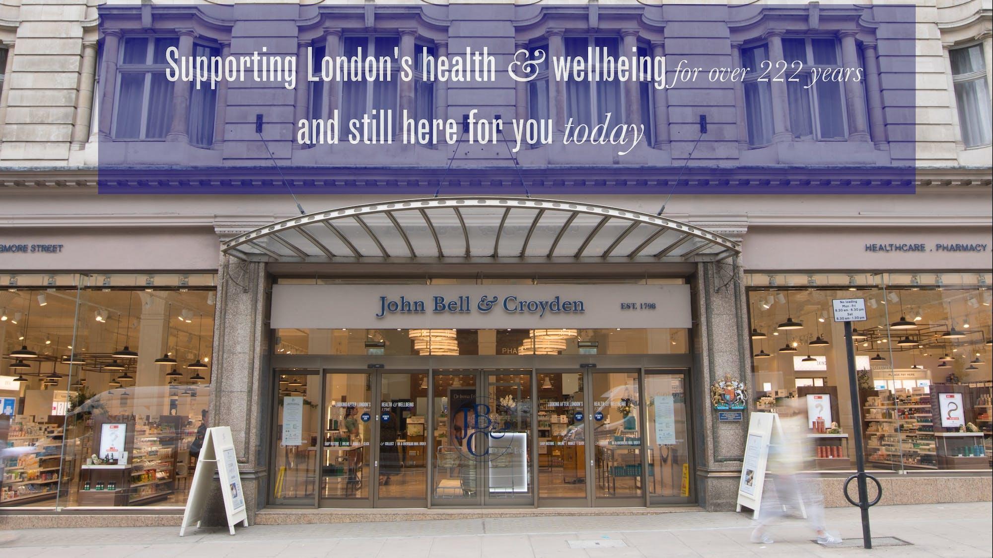 #BuyOnline(andInStore!)Luxury  John Bell & Croyden