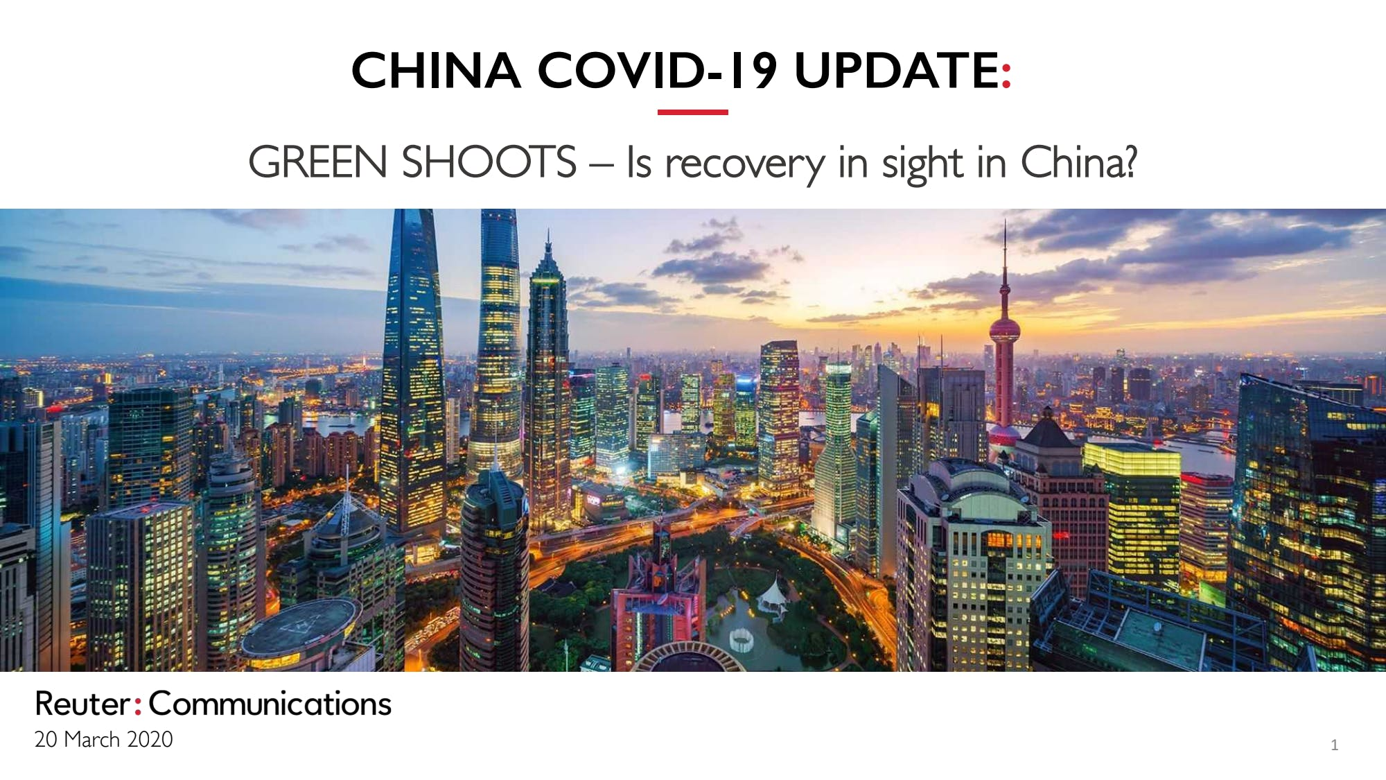 Green Shoots: Business recovery in China post Covid-19 by Chloe Reuter