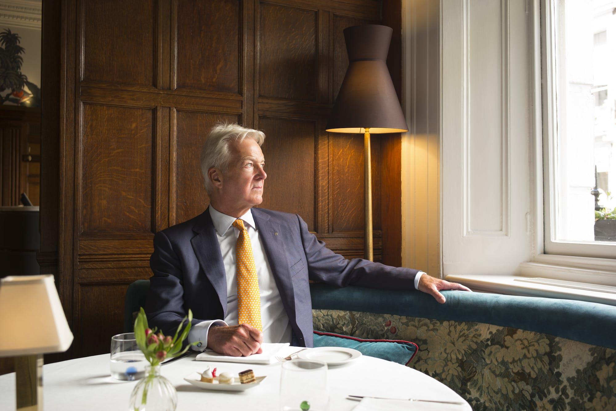 Navigating the Crisis  Stuart Johnson, Managing Director at Brown's Hotel
