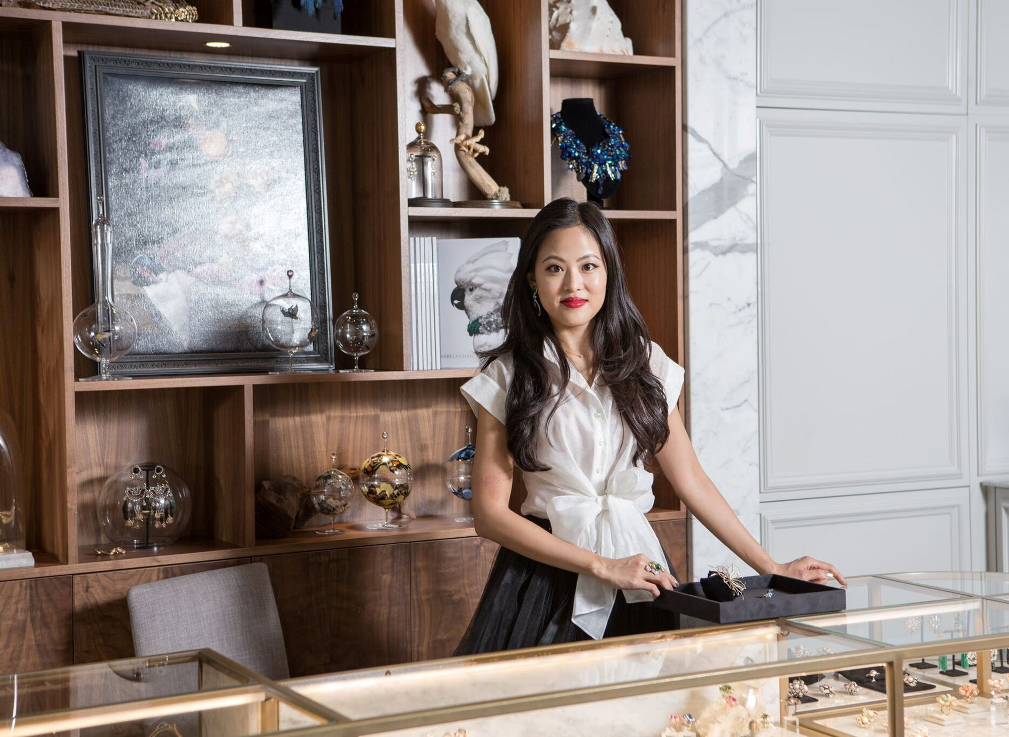 Five Minutes with the Founder  Anabela Chan