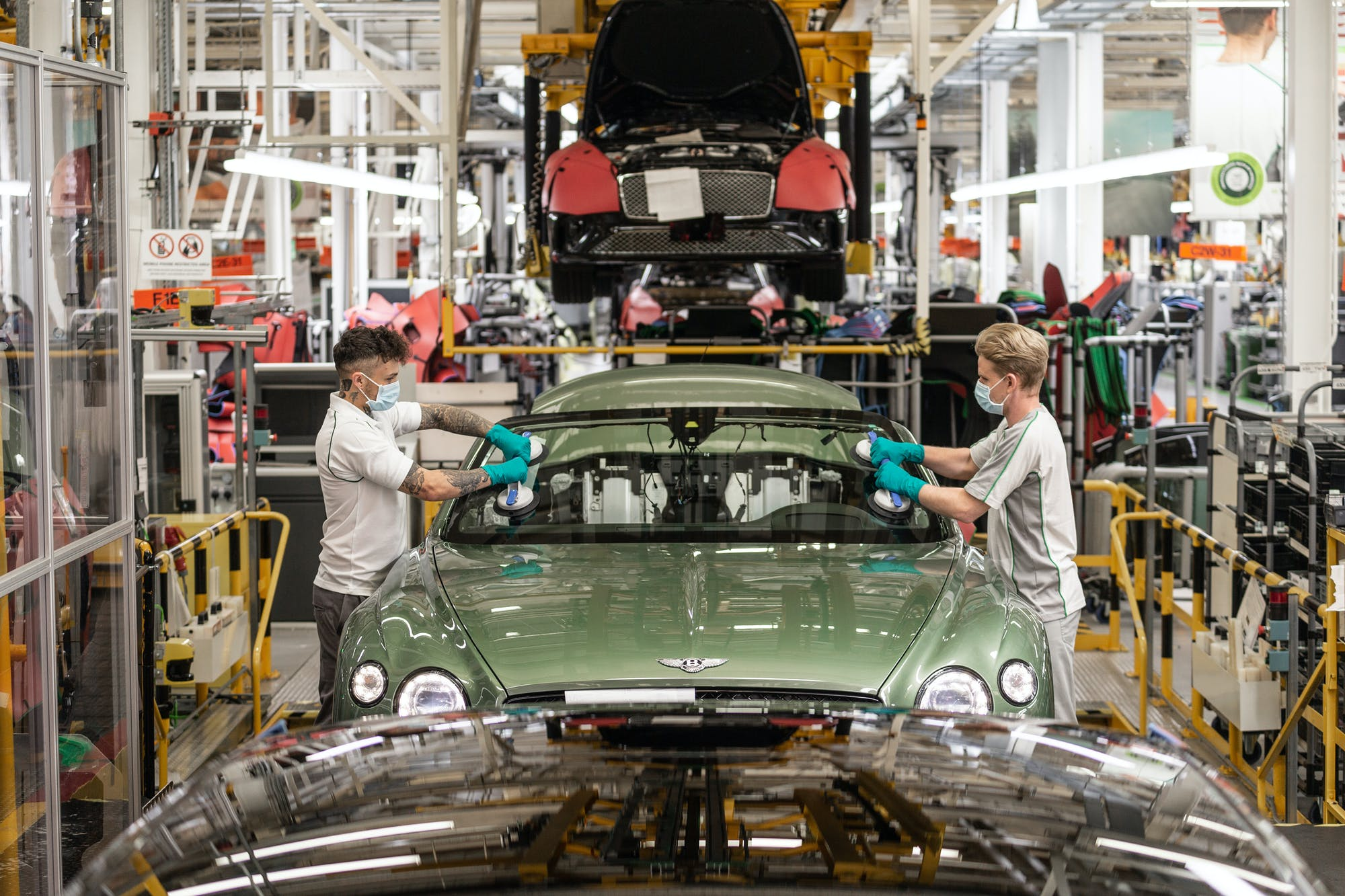 Coming back stronger  Bentley reopens factory and sees sales growth