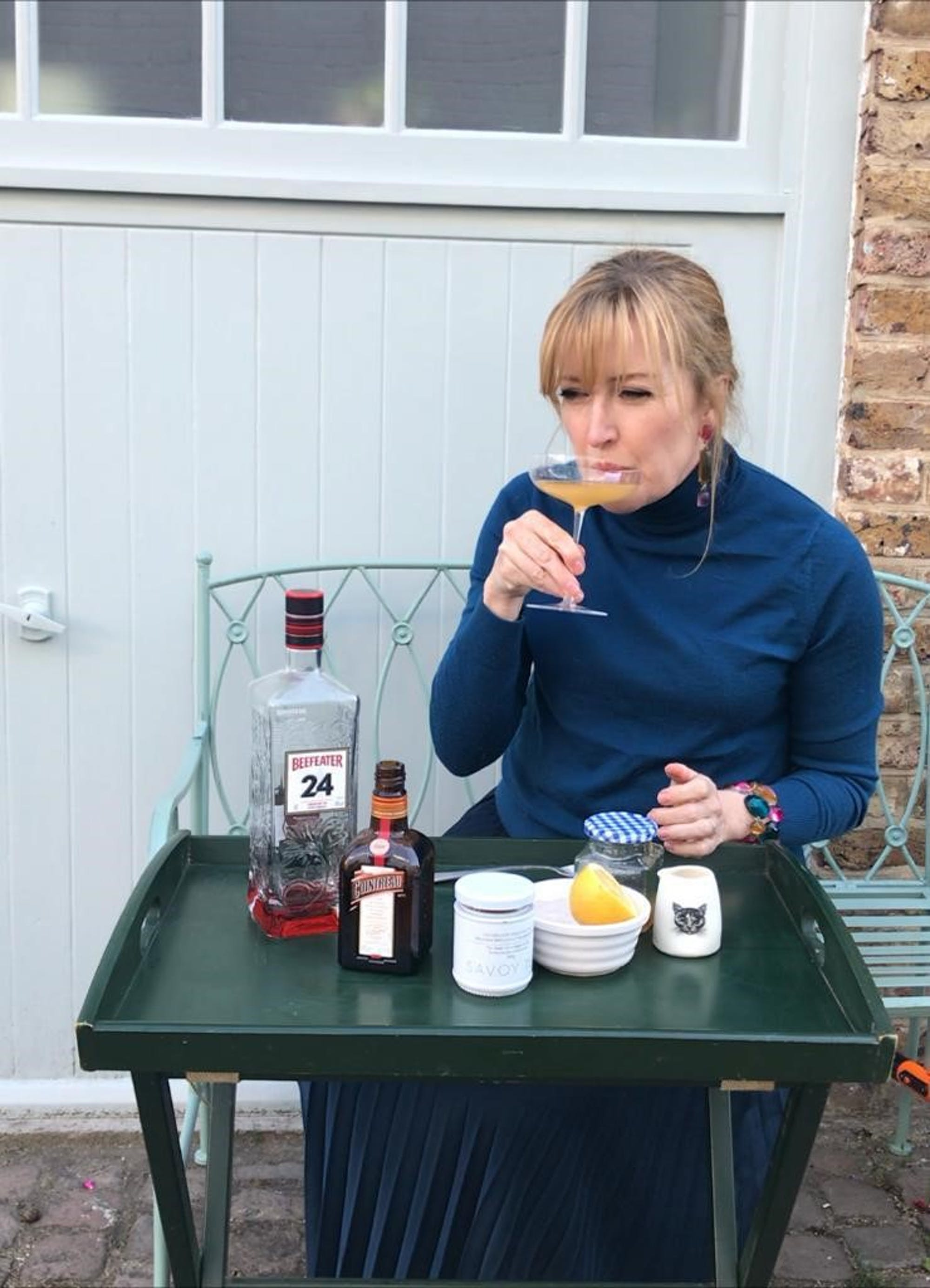 The Walpole Daily Practice  The Breakfast Martini, with The Savoy and Beefeater 24