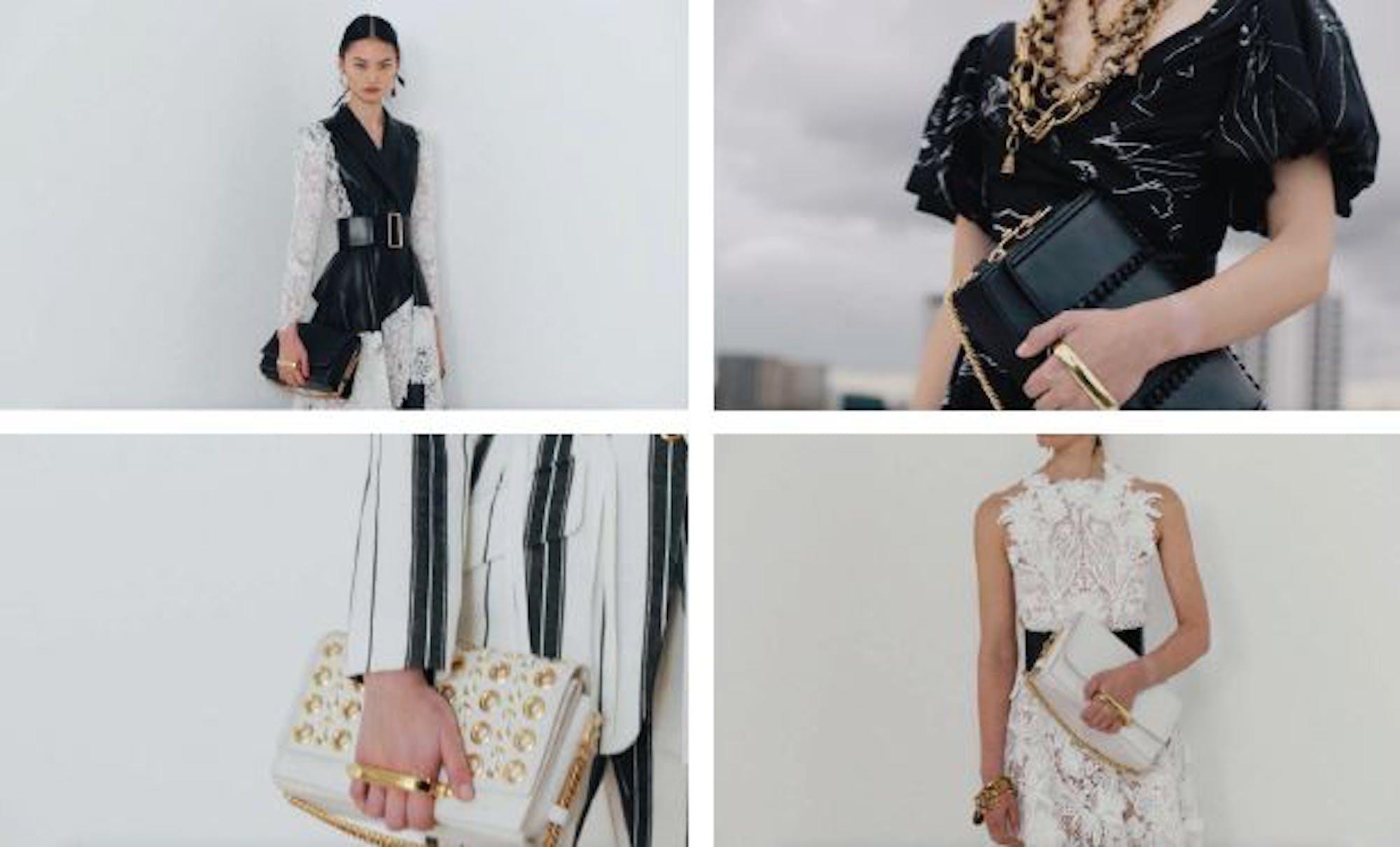 #BuyOnlineLuxury  Alexander McQueen: The Story Shoulder Bag