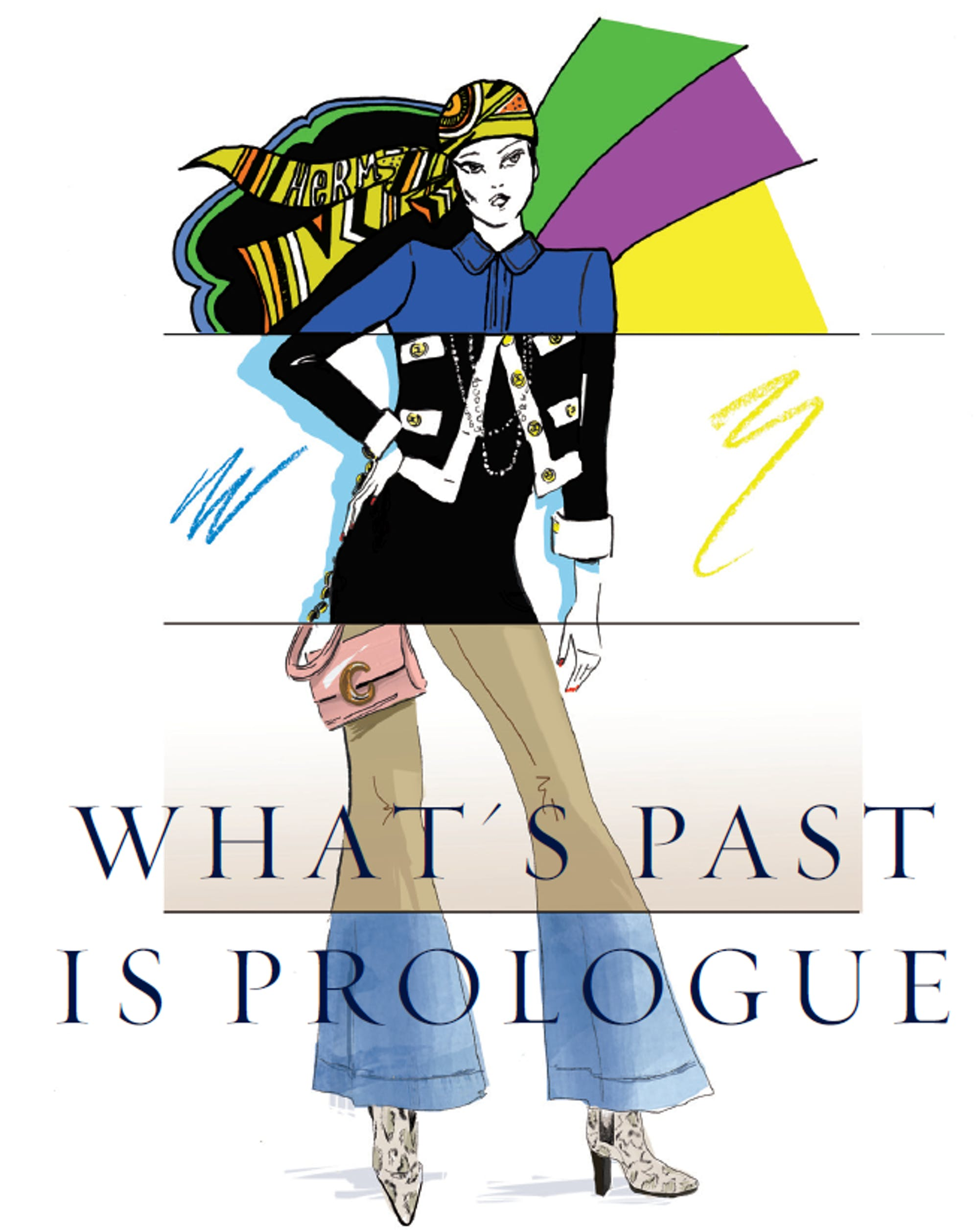Walpole editorial  What's Past is Prologue by Lydia Slater, Editor-in-Chiefof Harper's Bazaar