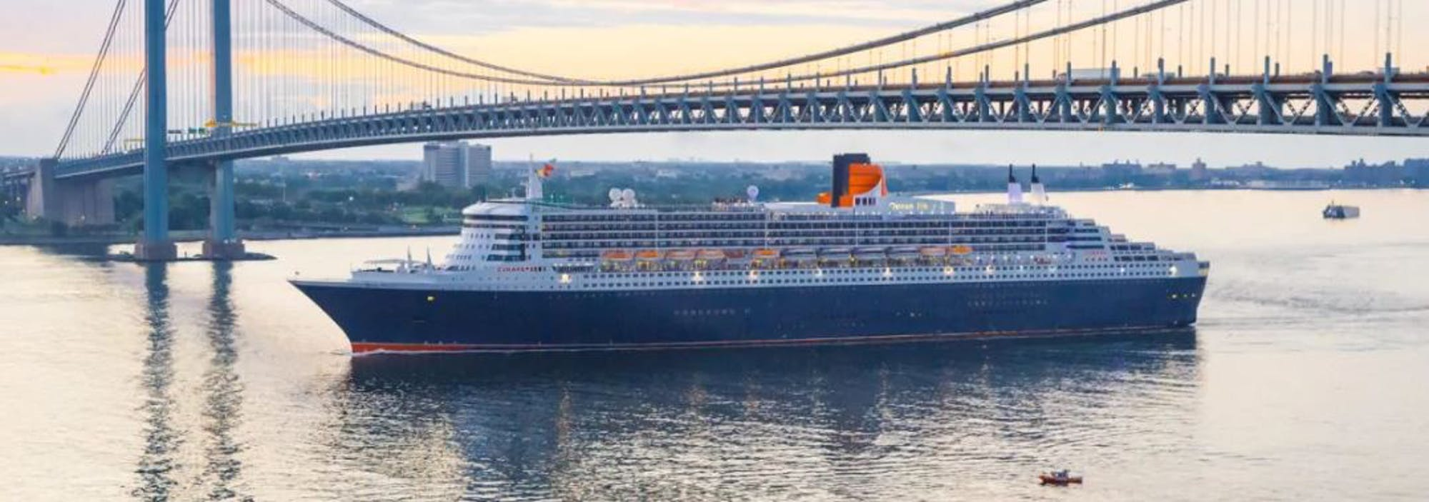 Love in the Time of Coronavirus  Cunard makes a series of food donations to charity