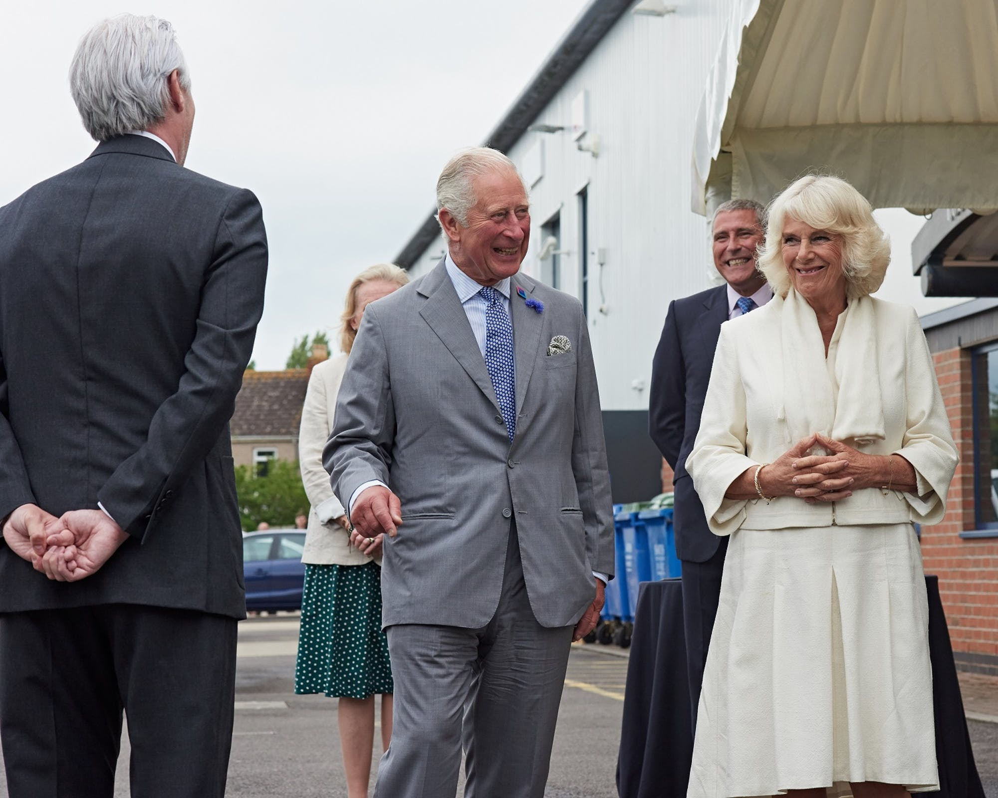 HRH The Prince of Wales and HRH The Duchess of Cornwall visit Turnbull & Asser