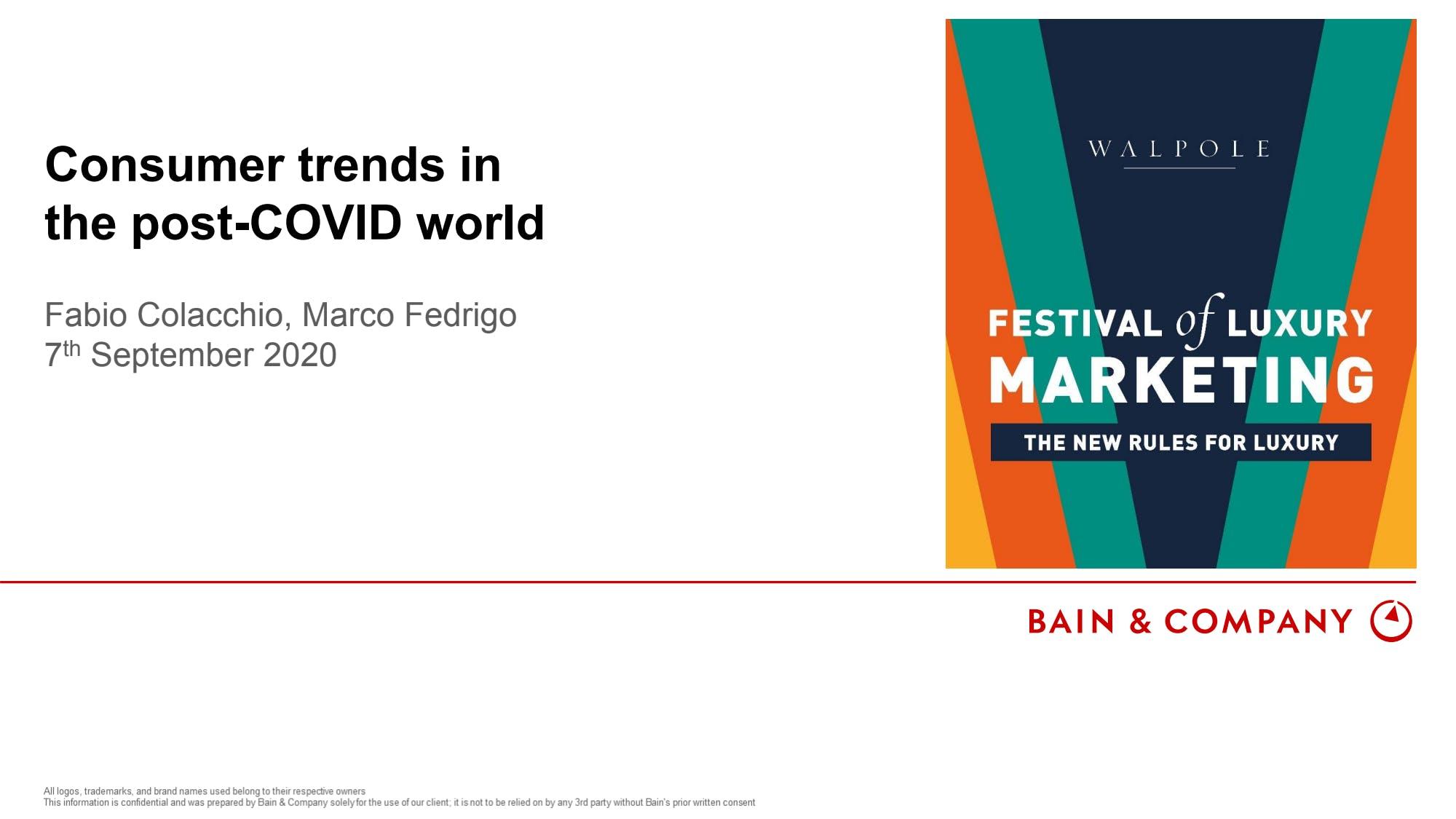 Festival of Luxury Marketing  Day 1 - Highlights