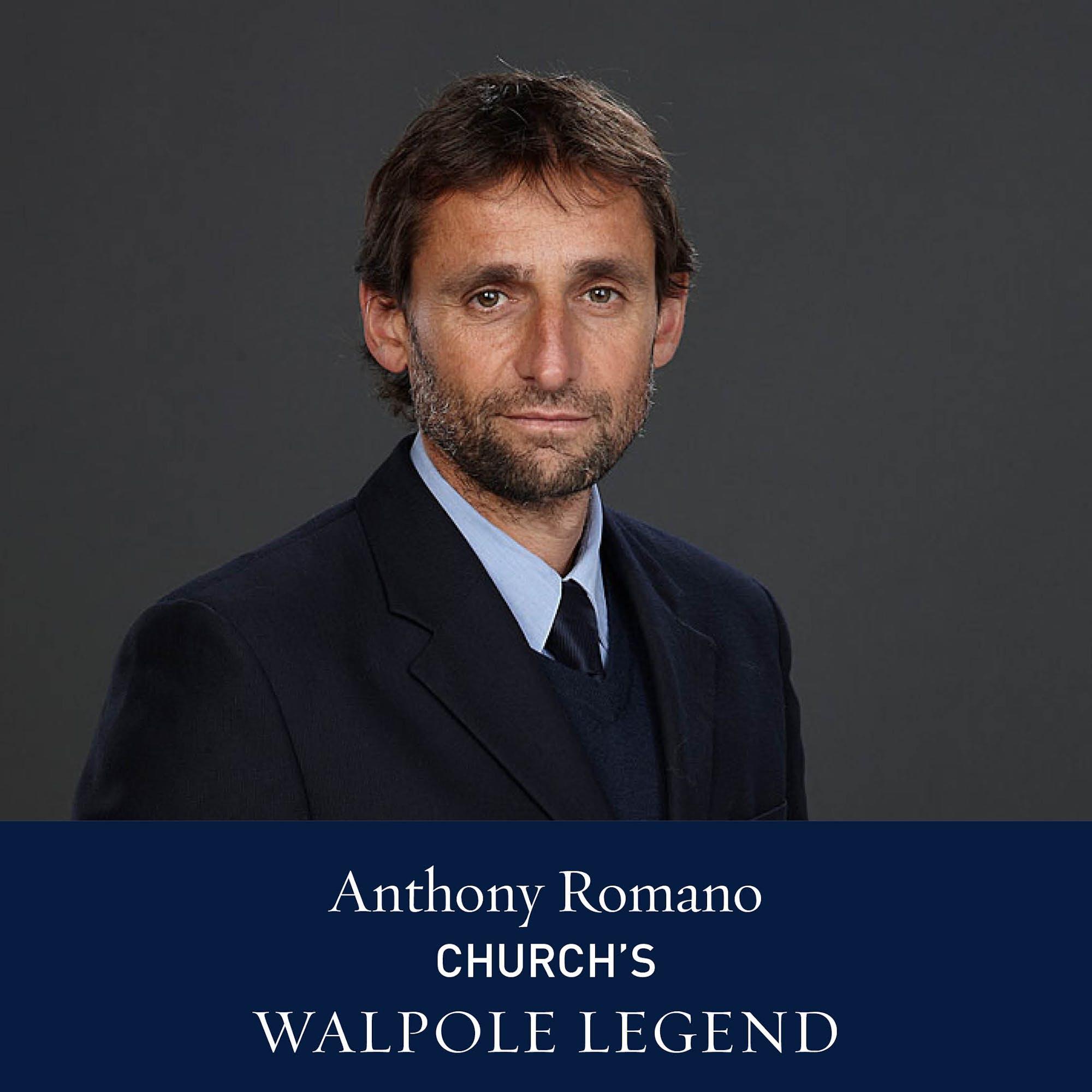 The Walpole Power List 2020  The Legends: Anthony Romano, CEO, Church's