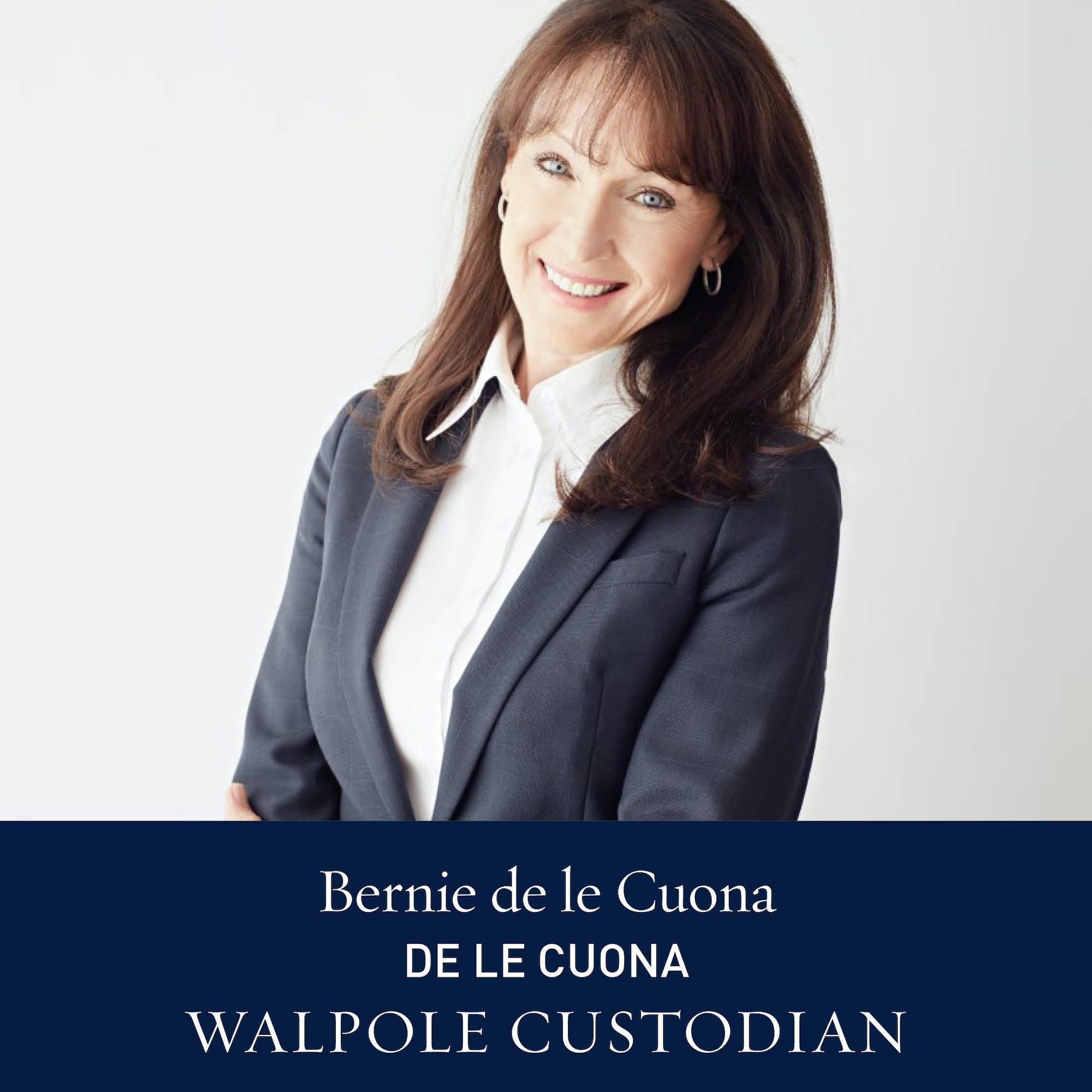 The Walpole Power List 2020  The Custodians: Bernie de Le Cuona, Founder & CEO, de Le Cuona