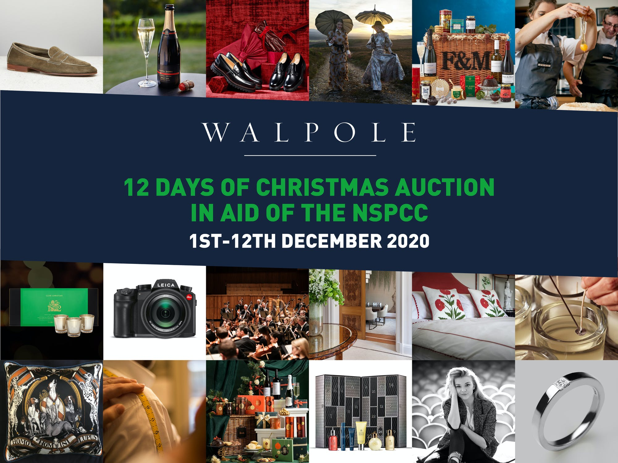12 Days of Christmas Auction in aid of the NSPCC