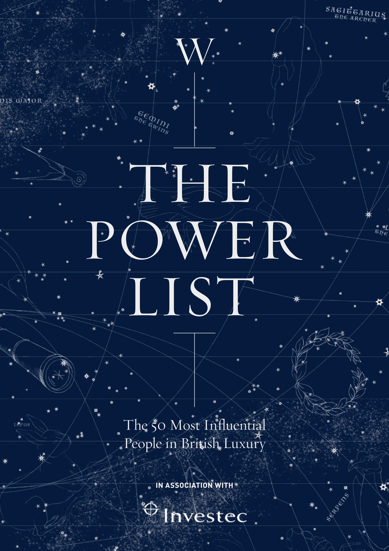 The Walpole Power List 2020  The Legends