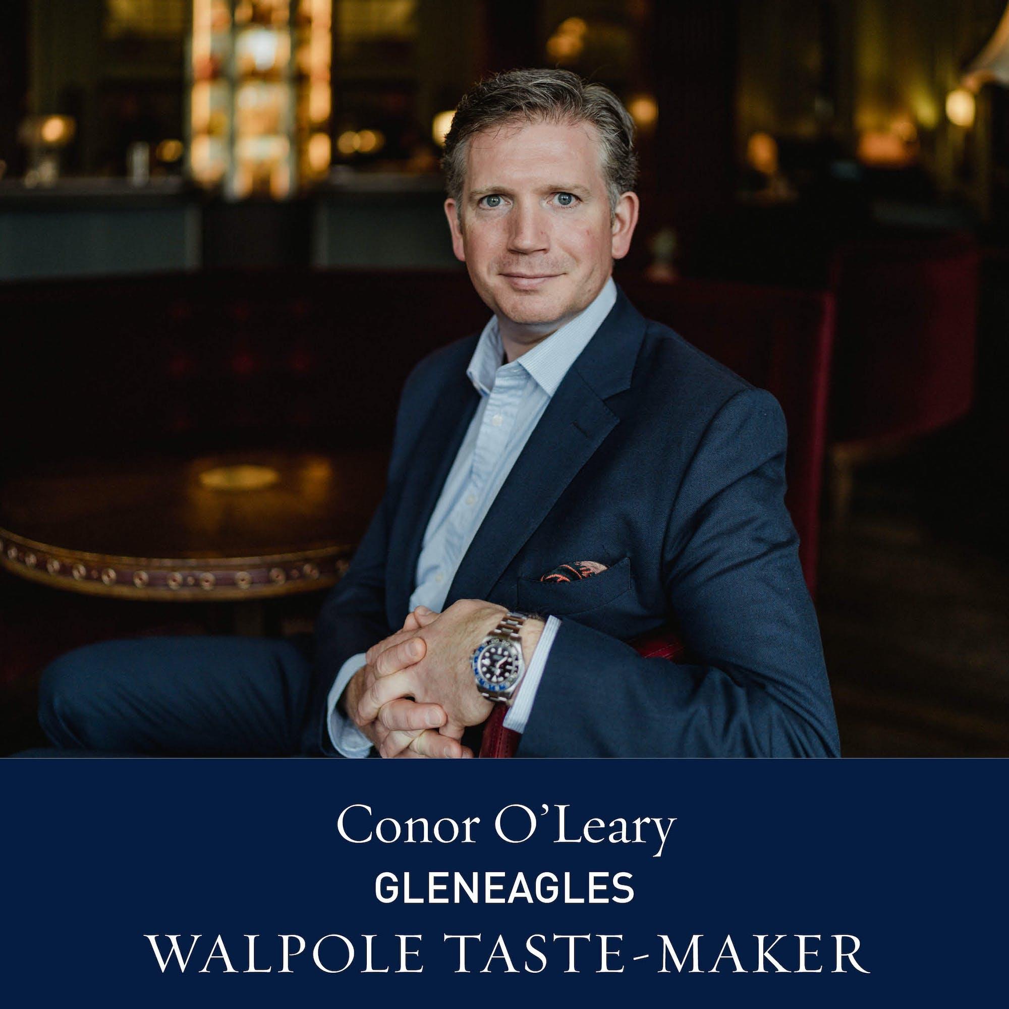 The Walpole Power List 2020  The Taste-Makers: Conor O'Leary, Gleneagles