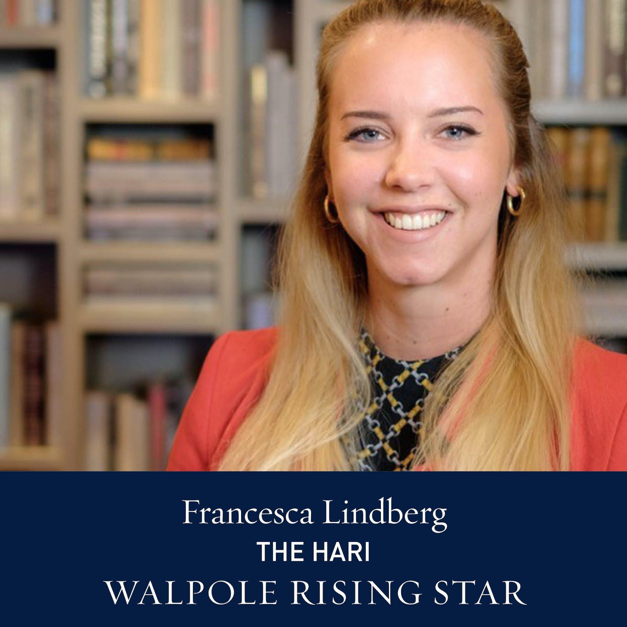 The Walpole Power List 2020  The Rising Stars: Francesca Lindberg, PR Manager, The Hari
