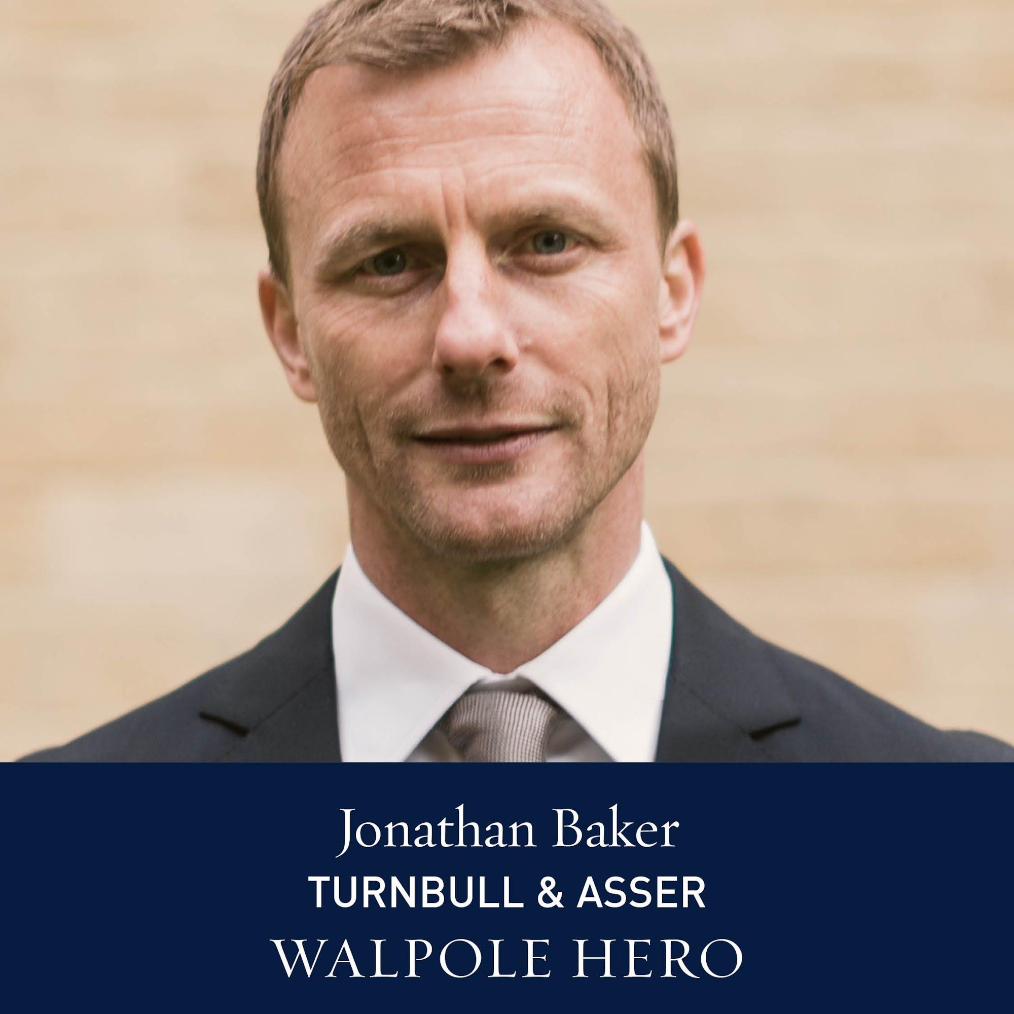 The Walpole Power List  The Heroes: Jonathan Baker, Managing Director of Turnbull & Asser